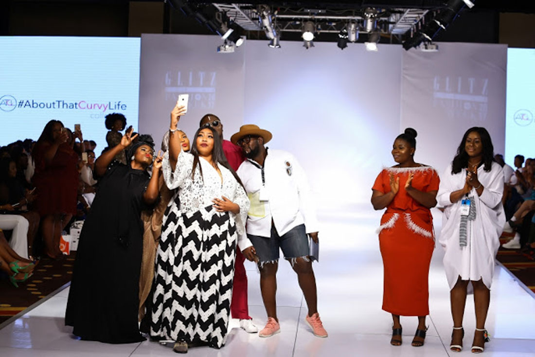 AboutThatCurvyLife rocked again at Glitz Africa Fashion Week Accra