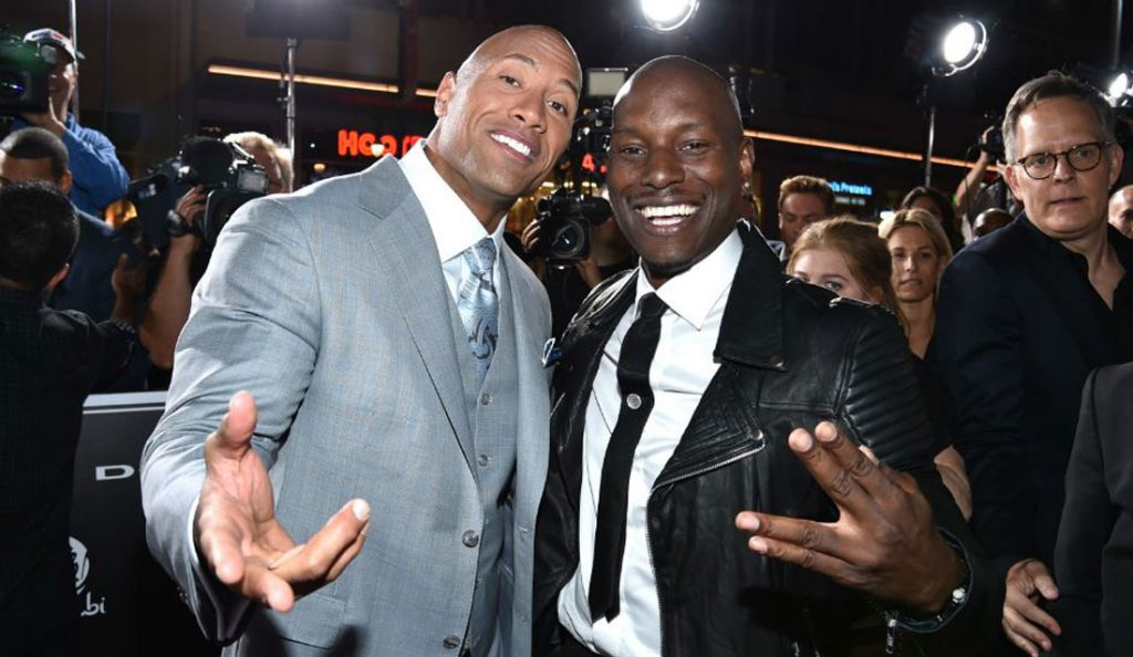 FAST AND FURIOUS 9: Tyrese Gibson at war with Dwayne Johnson over new release date