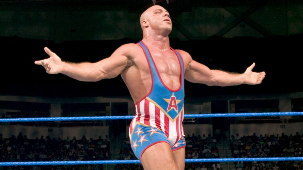WWE Kurt Angle Returns to ring after 11 years