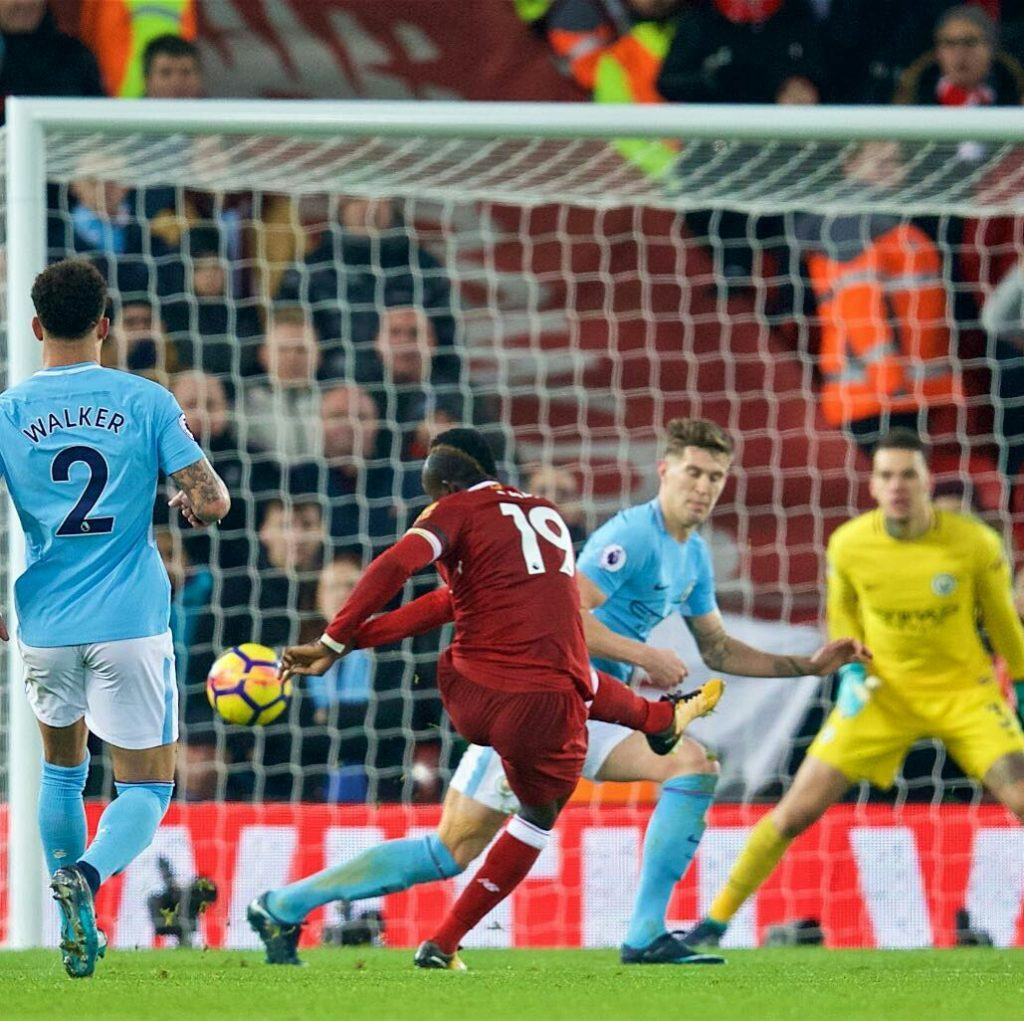 Match Report: Liverpool Vs Manchester City