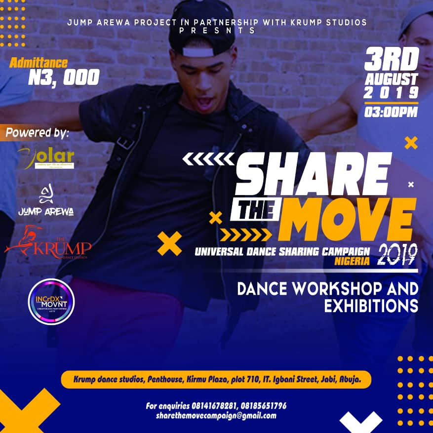 Share The Move set to hit the city of Abuja