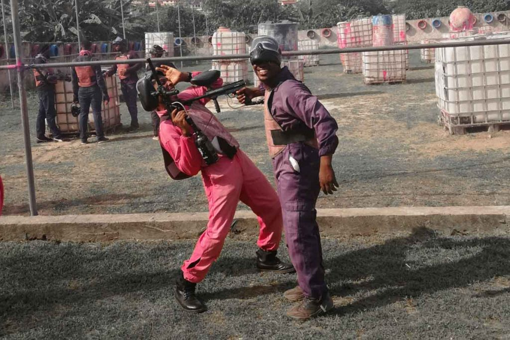 If you don't move, you die – My first experience paintballing